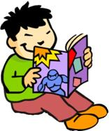 Logo Child Reading