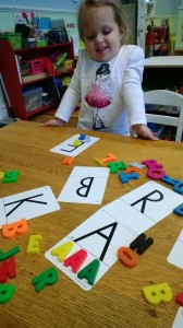 Learning 1st Letter of Names